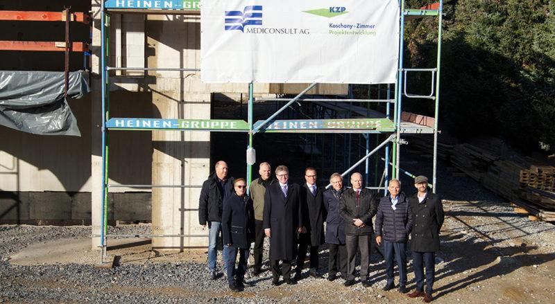 Richtfest für Neubau der Geno-Bank in Essen-Haarzopf