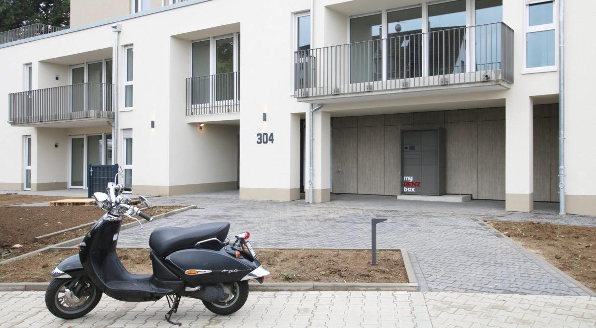 Neubau an der Humboldtstraße komplett fertiggestellt