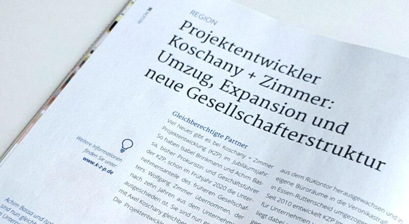 IHK Magazin meo berichtet über die KZP